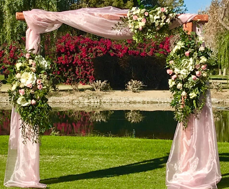 pink arch