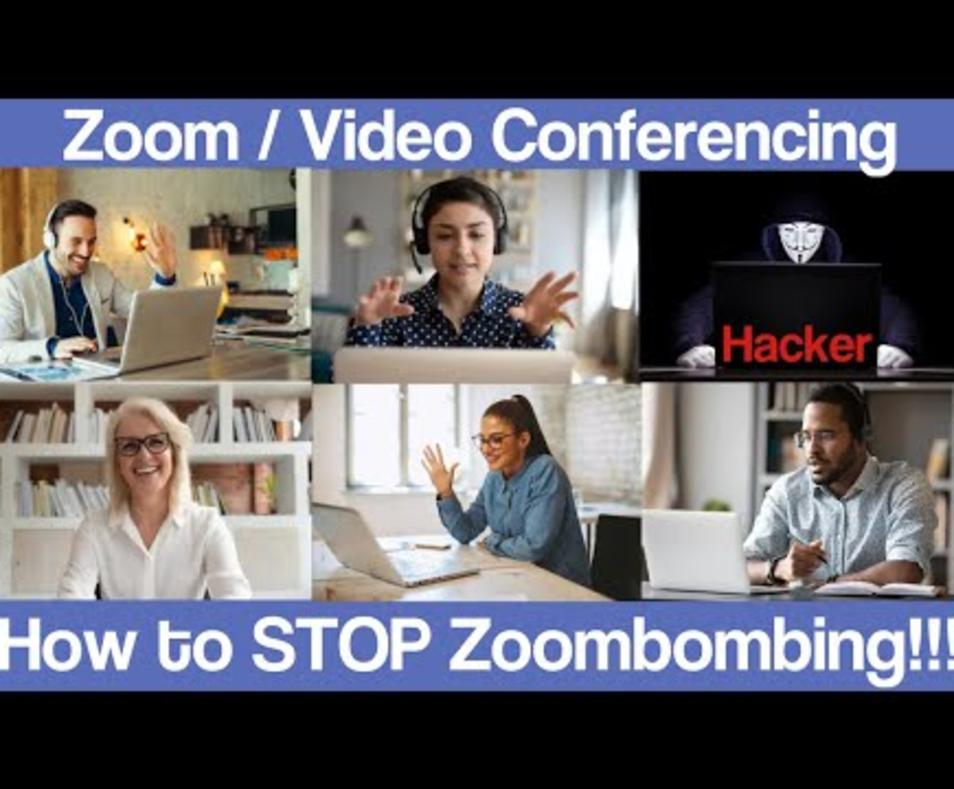 How to Protect Your Zoom Virtual Meetings from Being Hacked Zoombombings with GuardedID