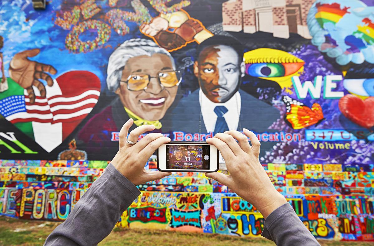 Brown v Board Mural