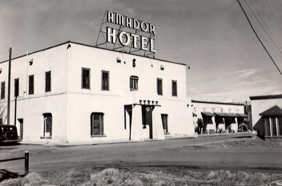 Amador Hotel, Las Cruces, 1935, New Mexico Magazine