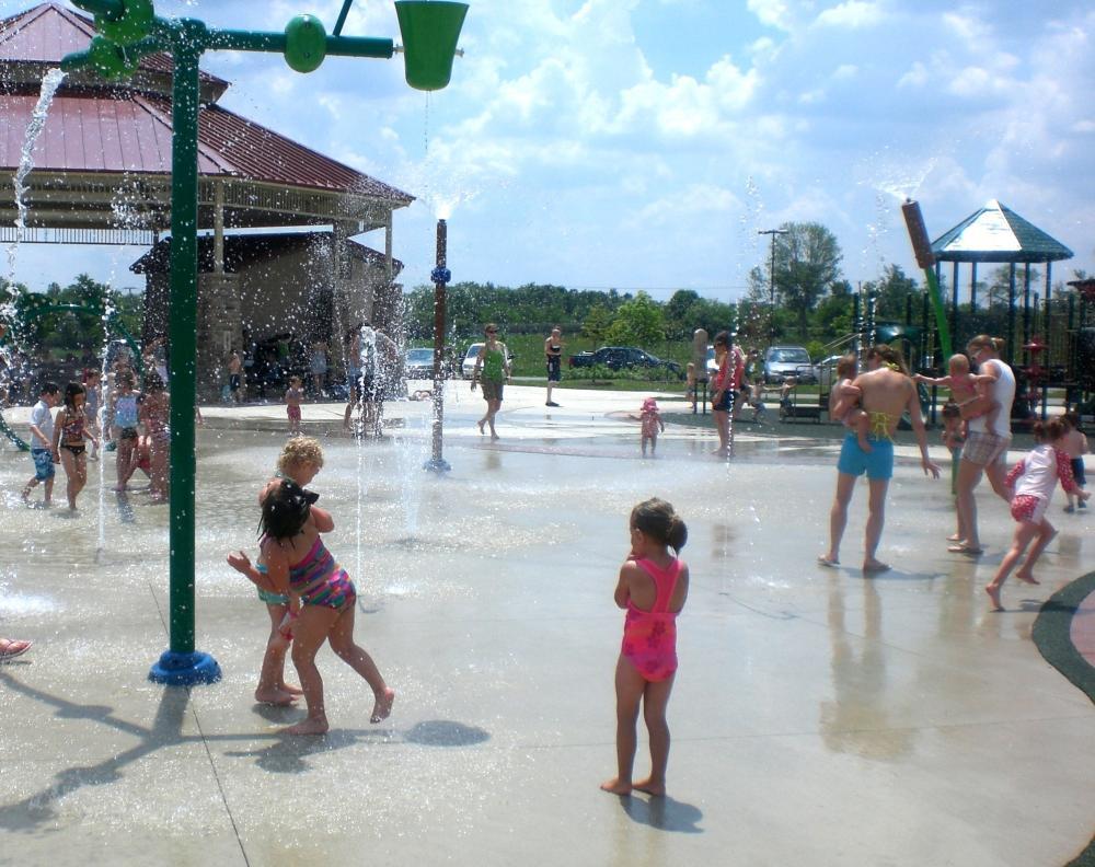 Splash Pads in Fort Wayne