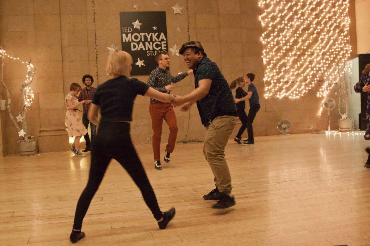 Swing dance at Ted Motyka Dance Studio