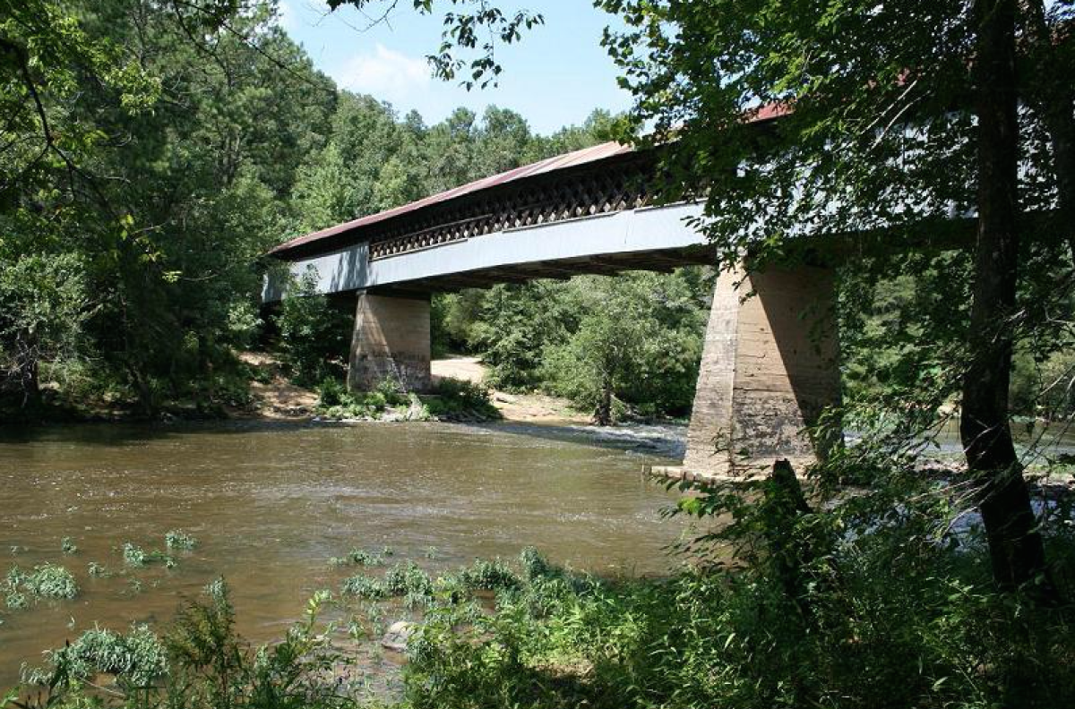 Swann Covered Bridge –  Cleveland, Blount County