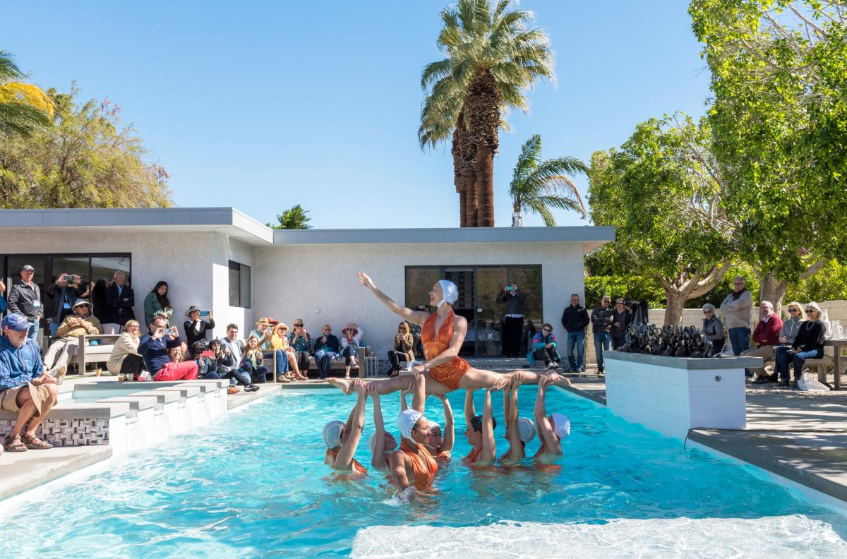 Modernism Week Aqualillies