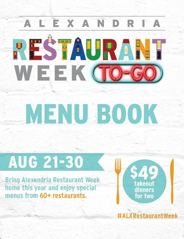 2020 Restaurant Week Menu Book