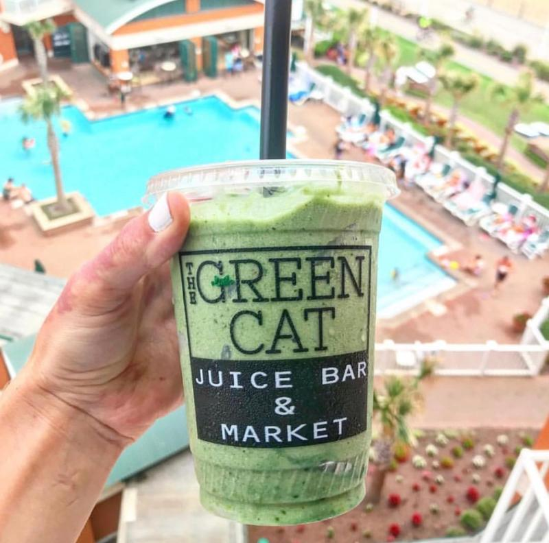 Green Cat Smoothie