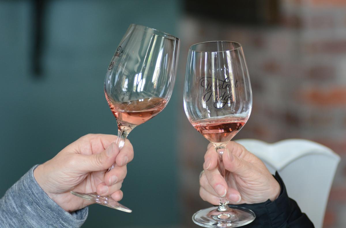 Walnut Ridge Winery Cheers by Colin Morton