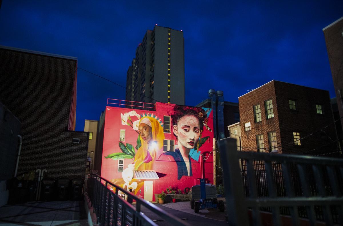 Harrisburg Mural 1 - by Sean Simmers