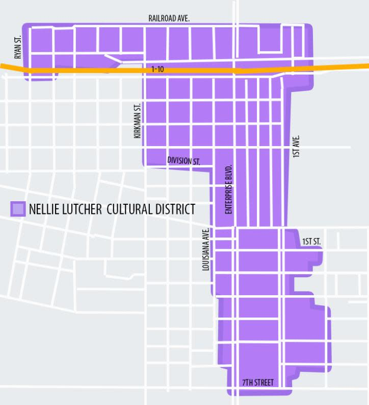 Nellie Lutcher Cultural District