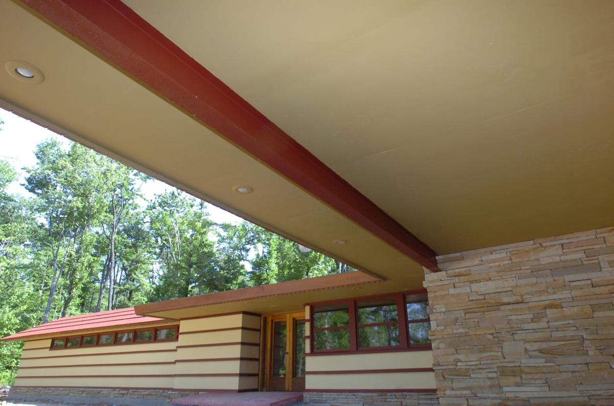 Frank Lloyd Wright's Duncan House at Polymath Park