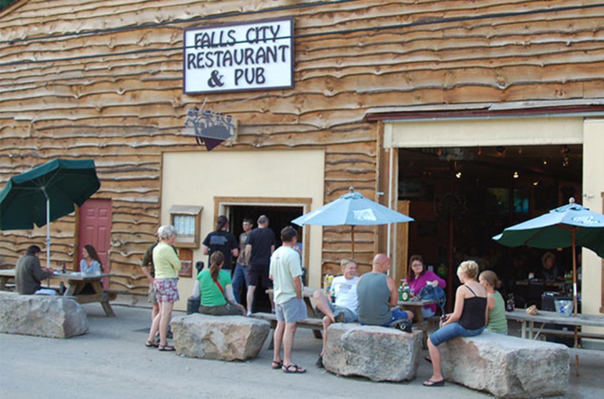 Falls City Pub Ohiopyle, PA