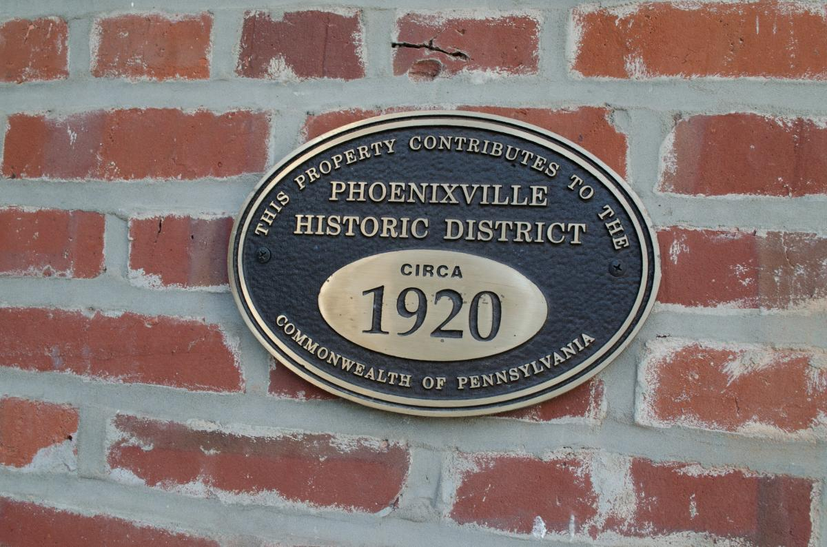 Forge Theater is part of the Phoenixville Historic District