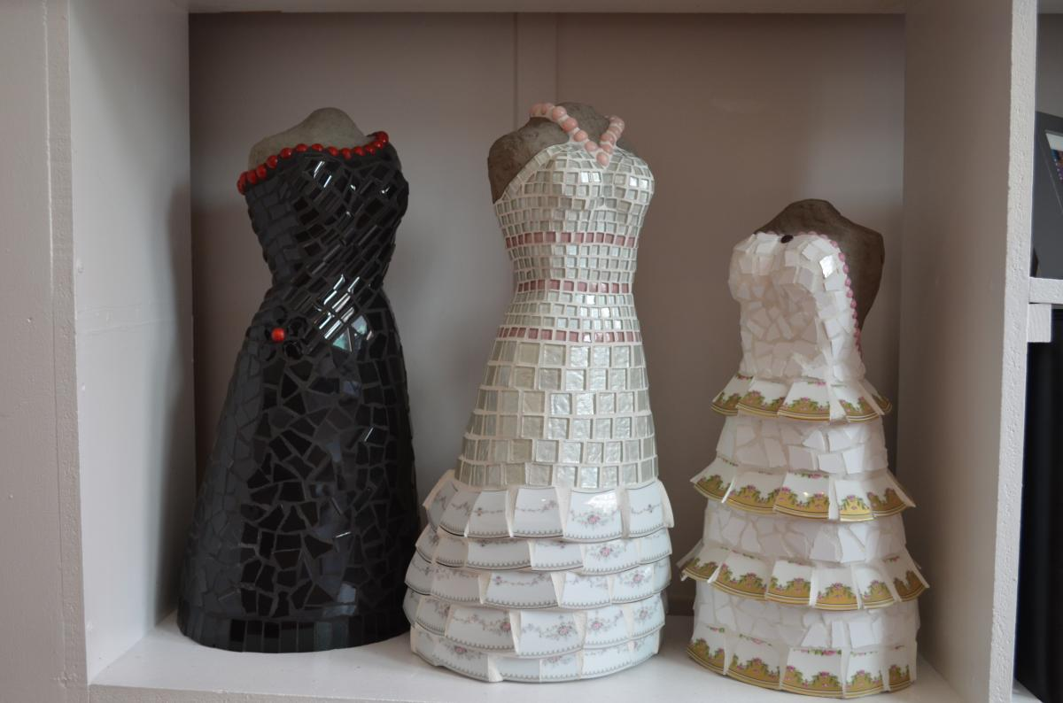 Bluestone Gallery Dress Sculptures