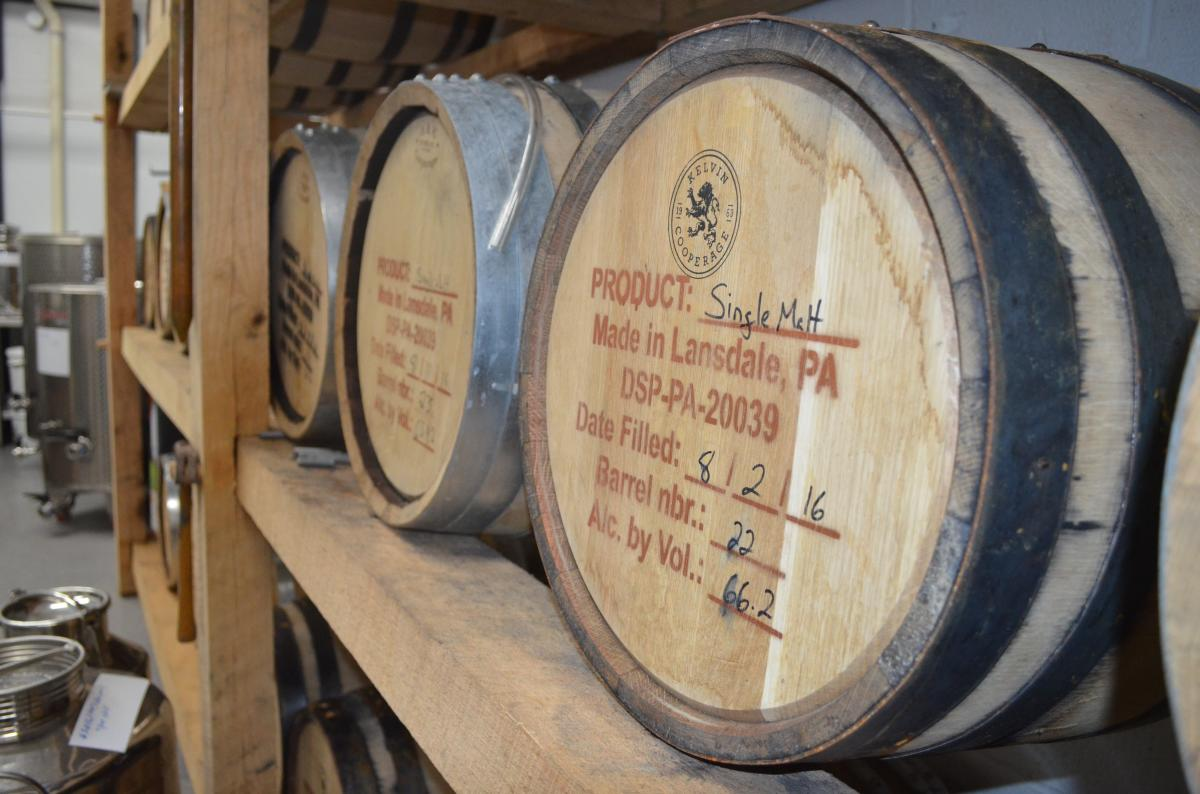 Boardroom Spirits Barrels