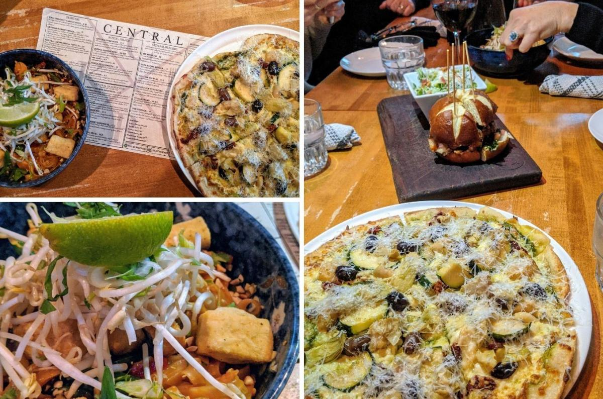 Dine Around Menu Options at Central Kitchen & Bar
