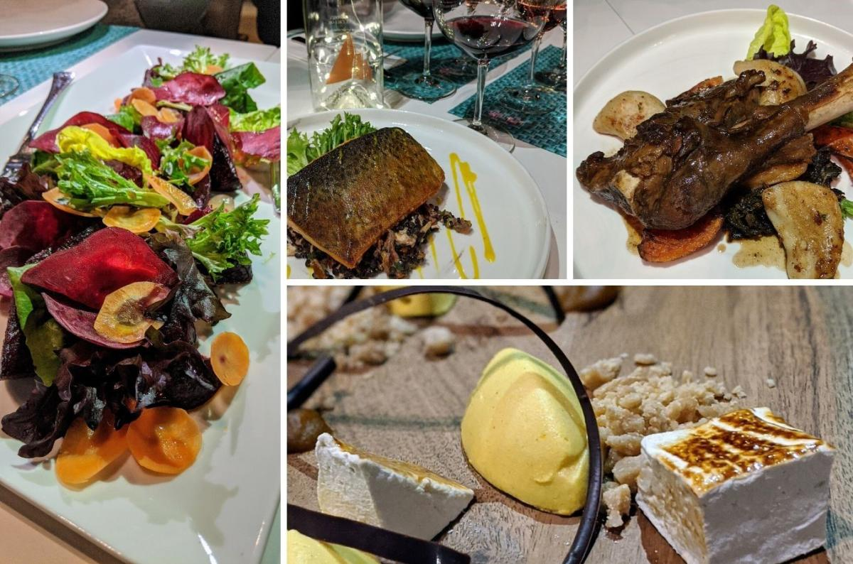 Dine Around Menu Options at The Garden Bistro