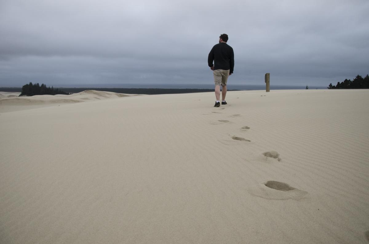 Hiking the Oregon Dunes National Recreation Area by Katie McGuigan