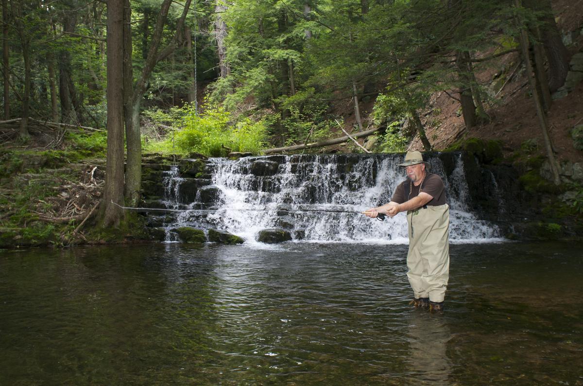 Pocono Mountains Fly Fishing