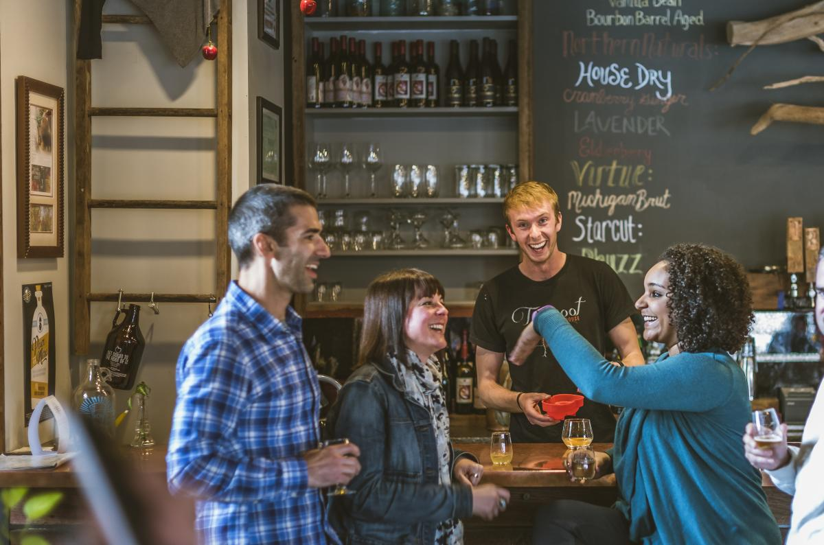 Taproot in Downtown Traverse City