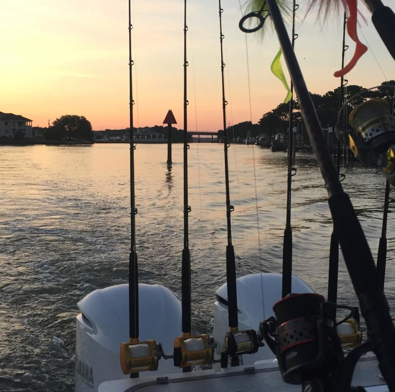 Fishing Lesner Bridge