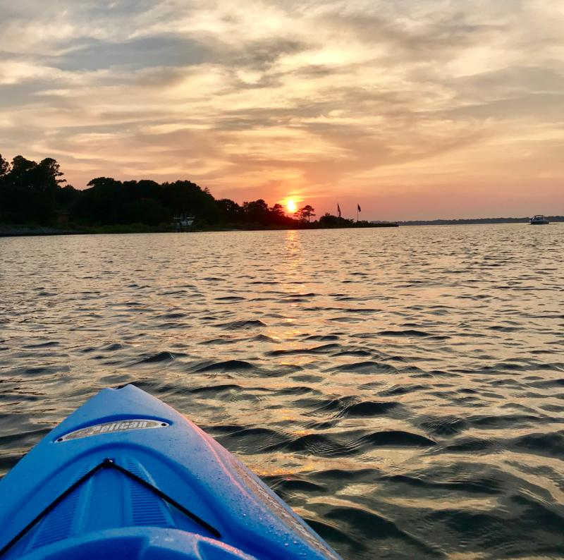 The Narrows First Landing State Park Kayak
