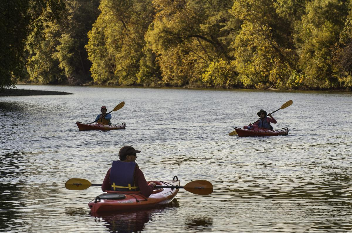 Schuylkill River Kayaking in Fall