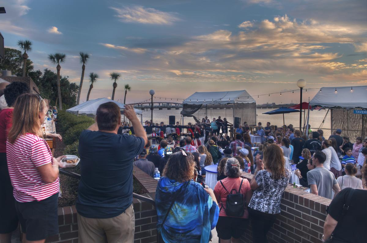 Greek Festival on the Halifax River in Daytona Beach