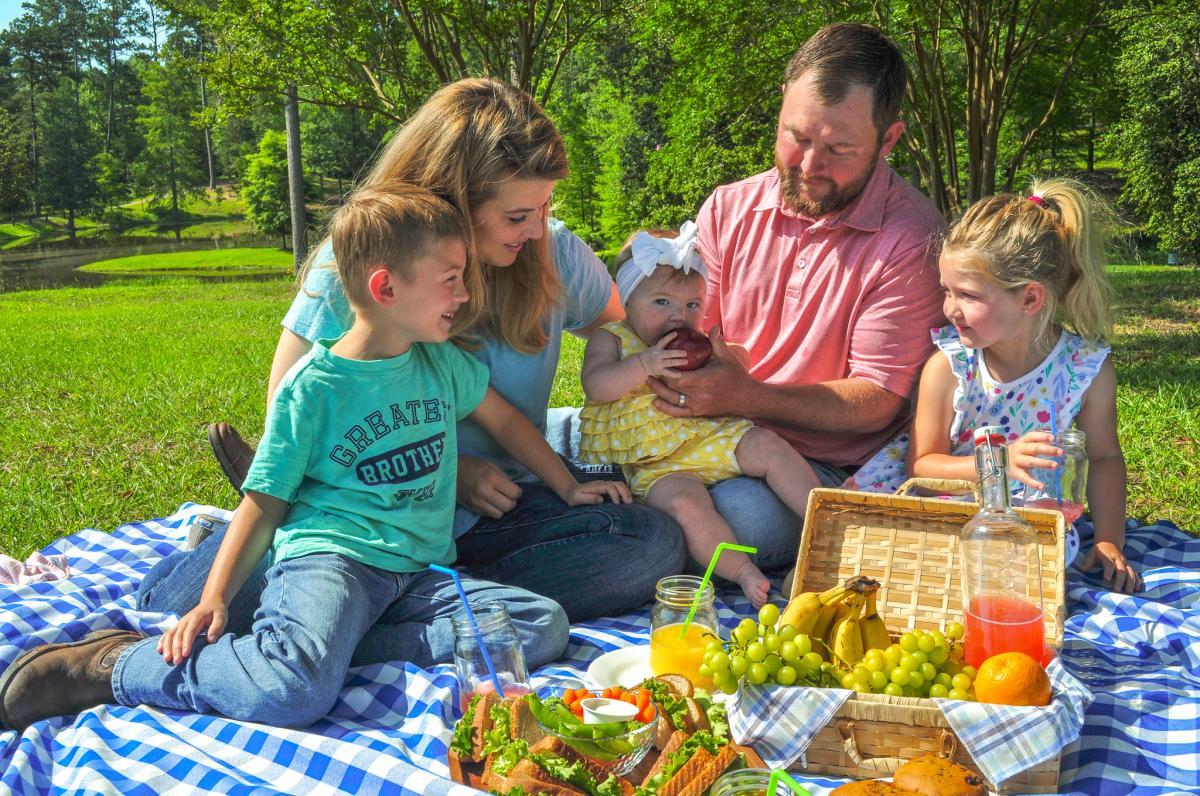 Lockerly Mini Adventure picnic