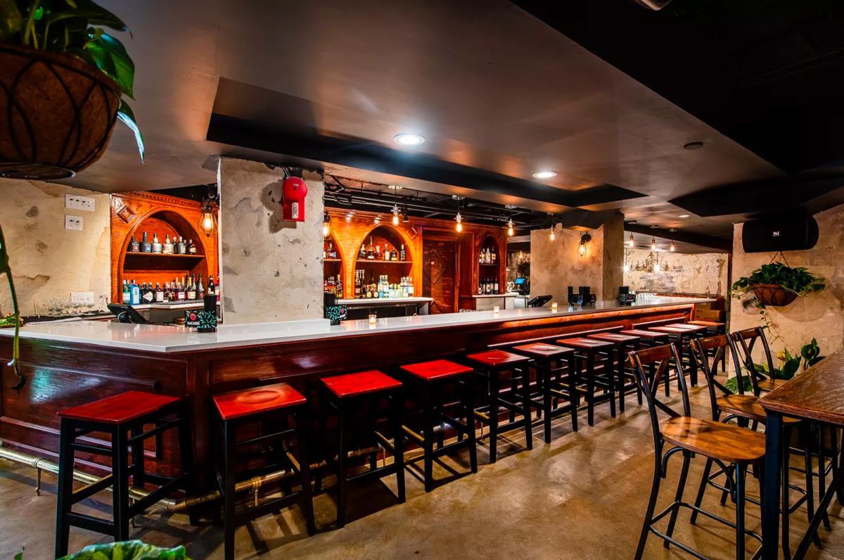 Casta's Rum Bar interior