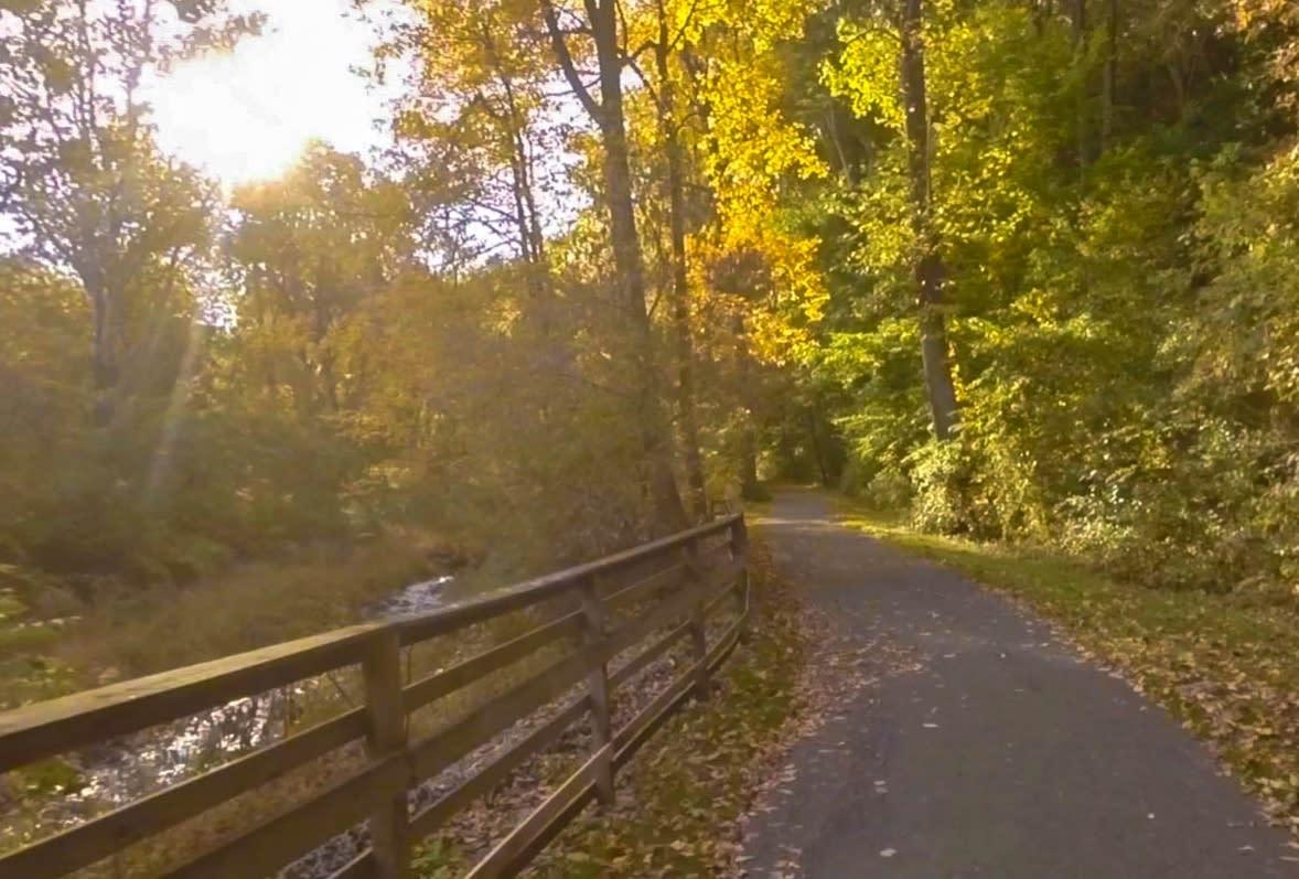 Bullfrog trail in Hershey