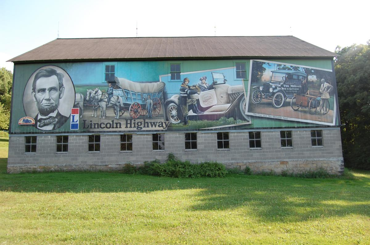 Lincoln Highway Murals