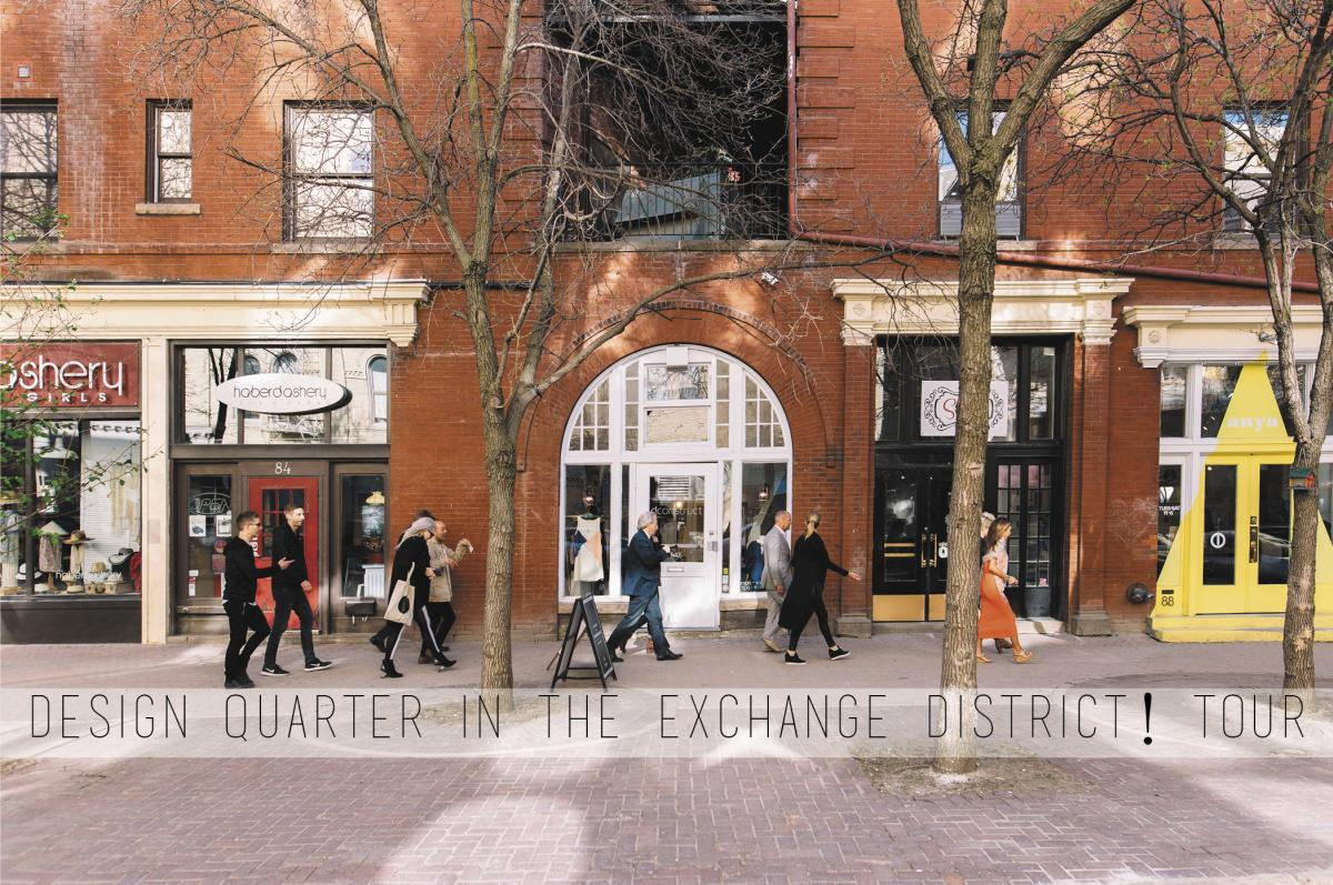 Design Quarter in the Exchange District