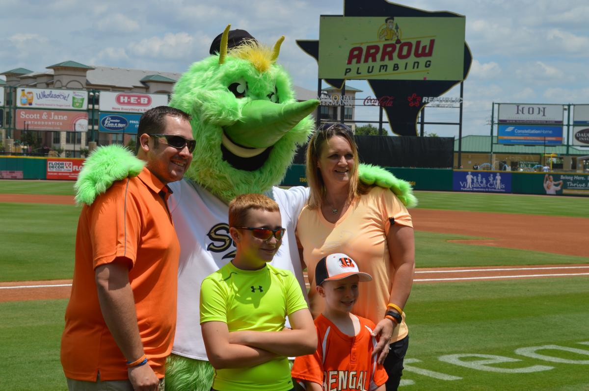Sugar Land Skeeters baseball mascot