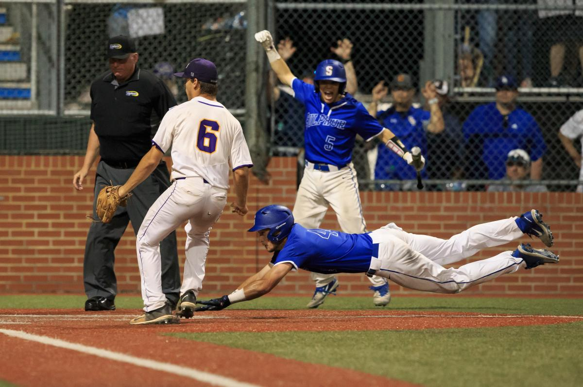 Sam Houston vs. Sulphur baseball