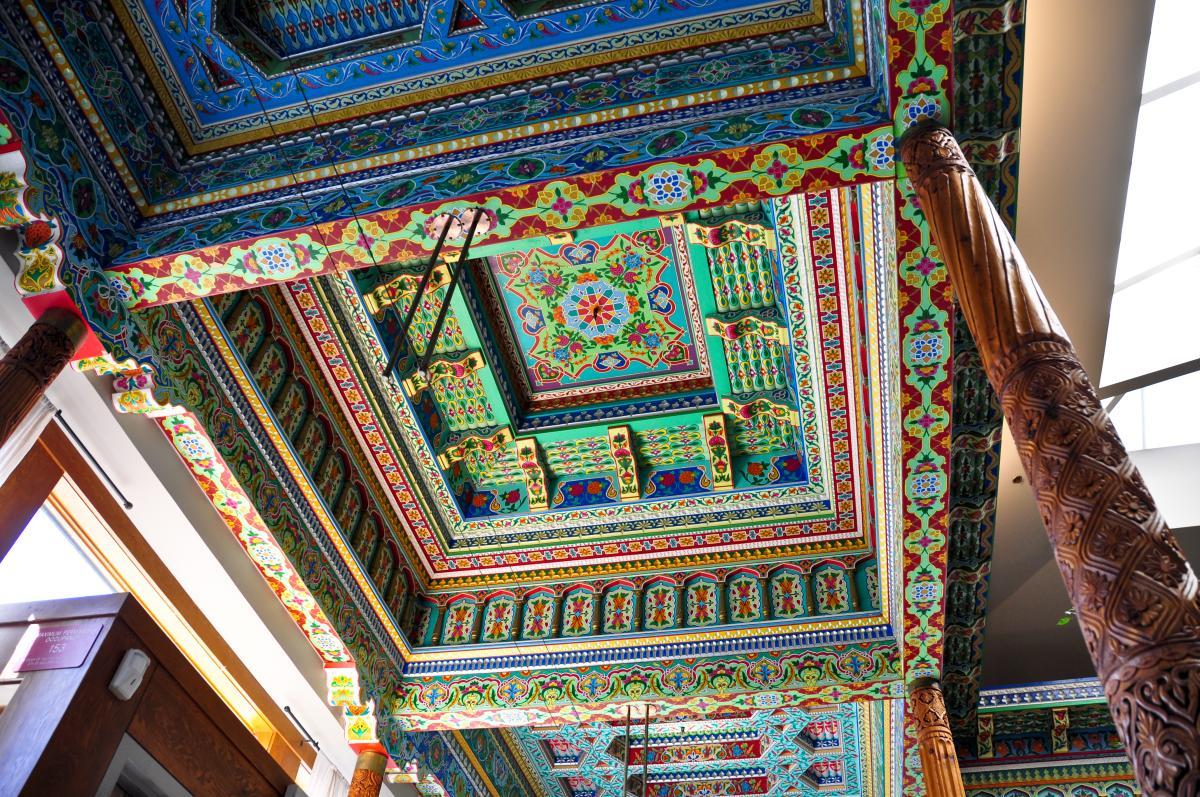 Boulder Dushanbe Teahouse Ceiling