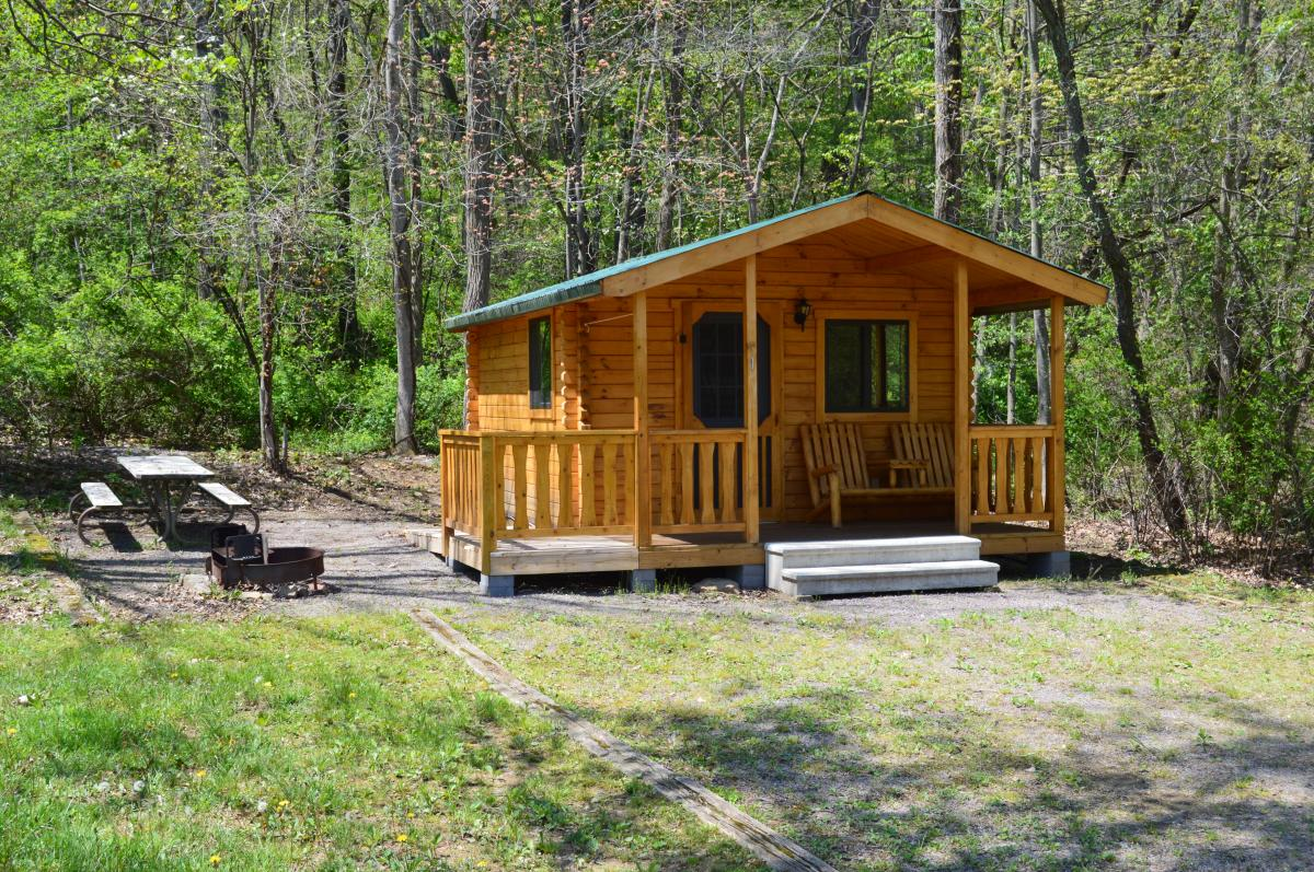 Yough Lake Campground Cabin