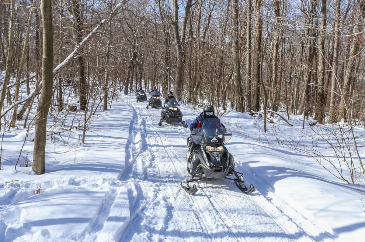 Snowmobile Tours at Seven Springs