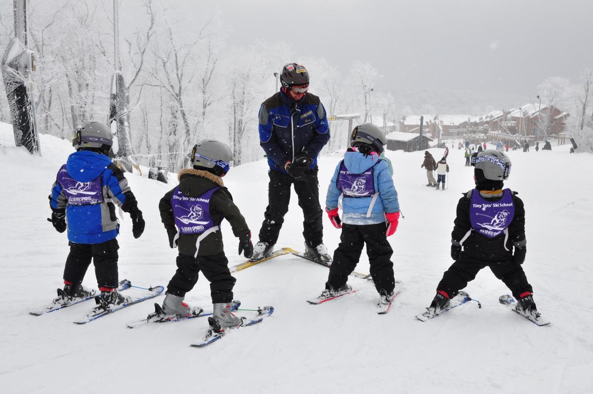 Ski School Lesson at Seven Springs