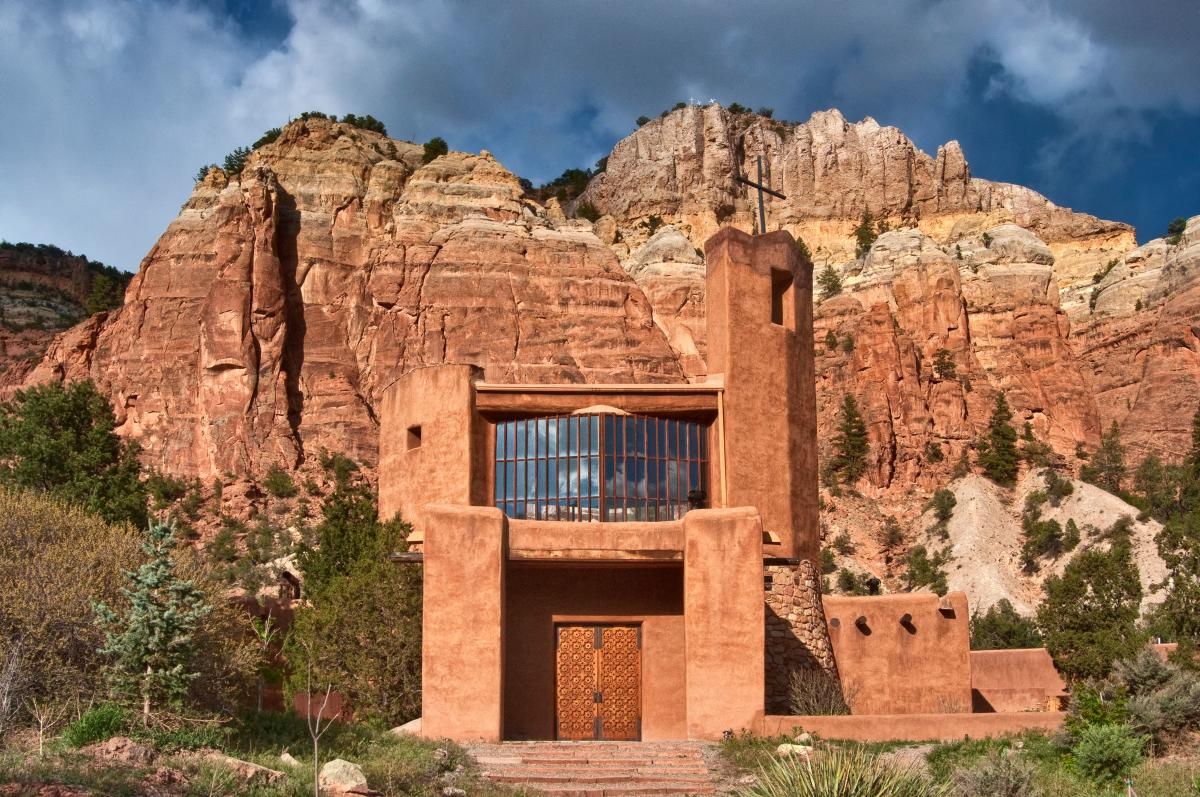 The Monastery of Christ in the Desert, New Mexico Magazine
