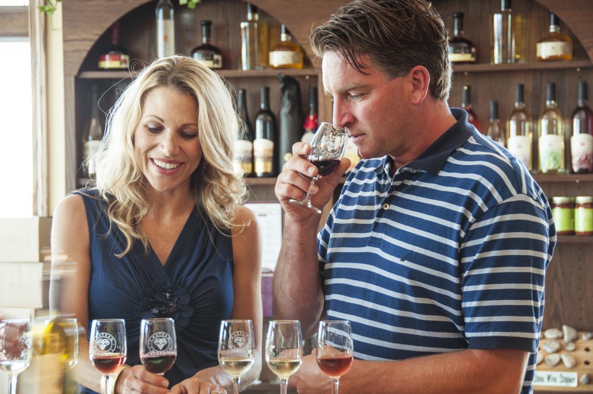 Wine Tasting at Chateau Chantal