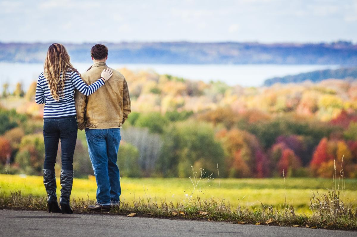 Fall Color on Old Mission Peninsula