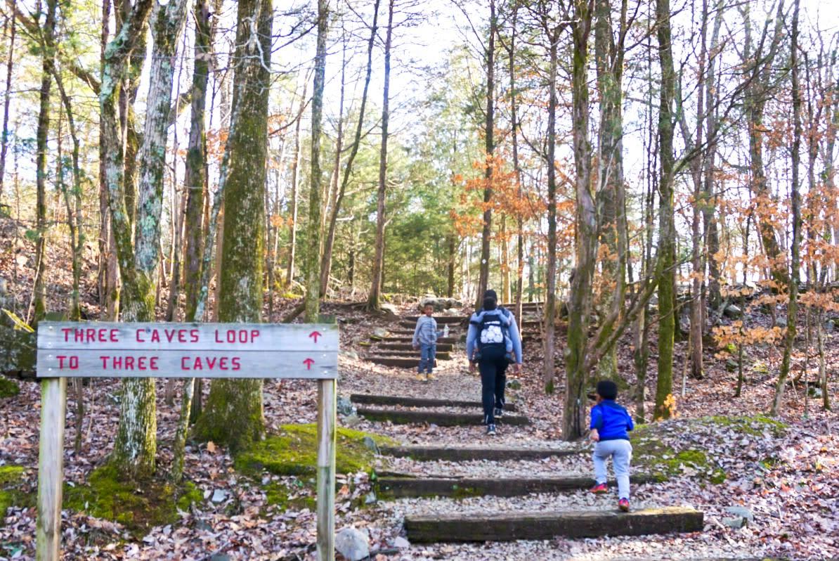 Family Hikes Black Adventure Crew Three Caves