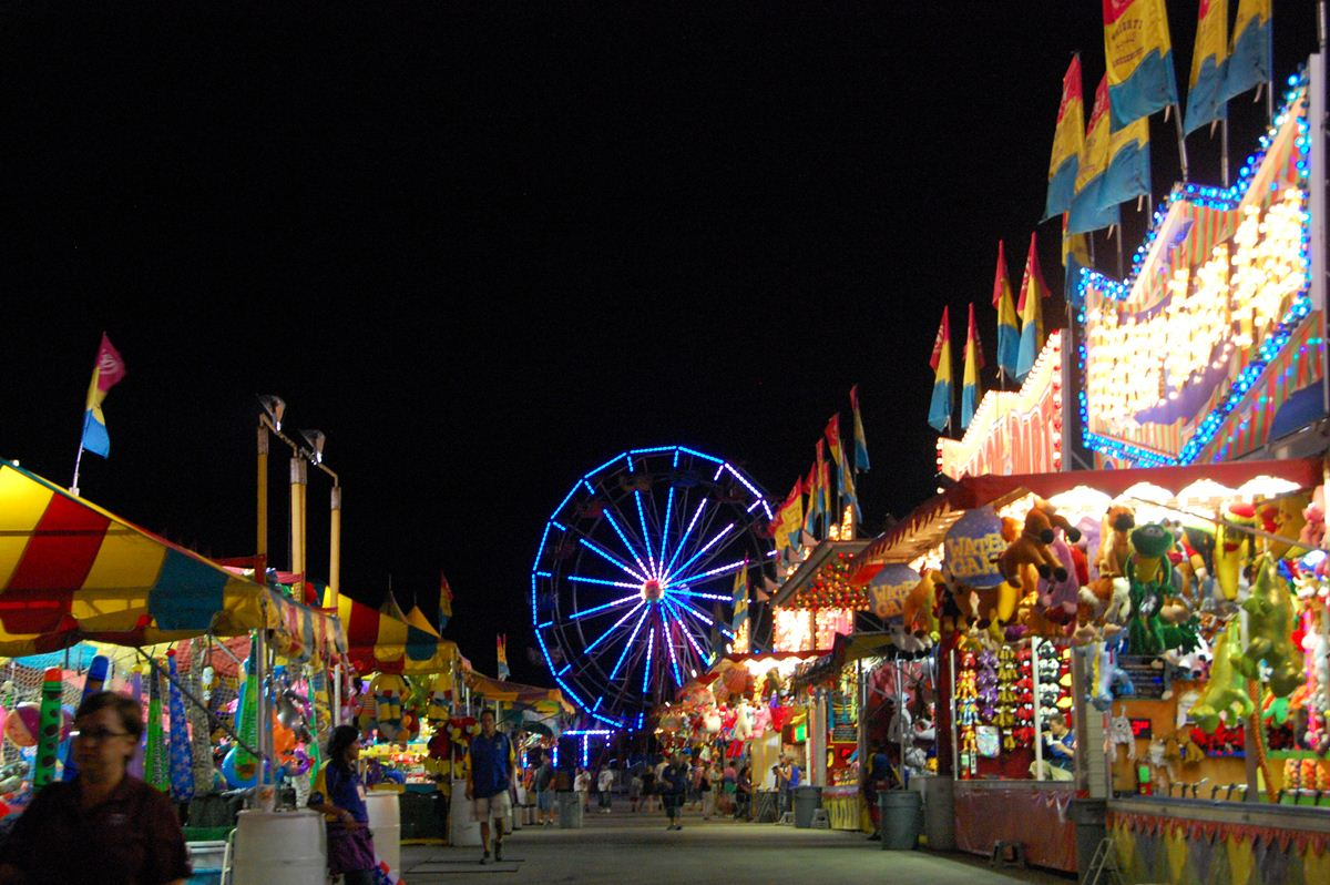 Brazos Valley Fair and Rodeo with Ferris Wheel