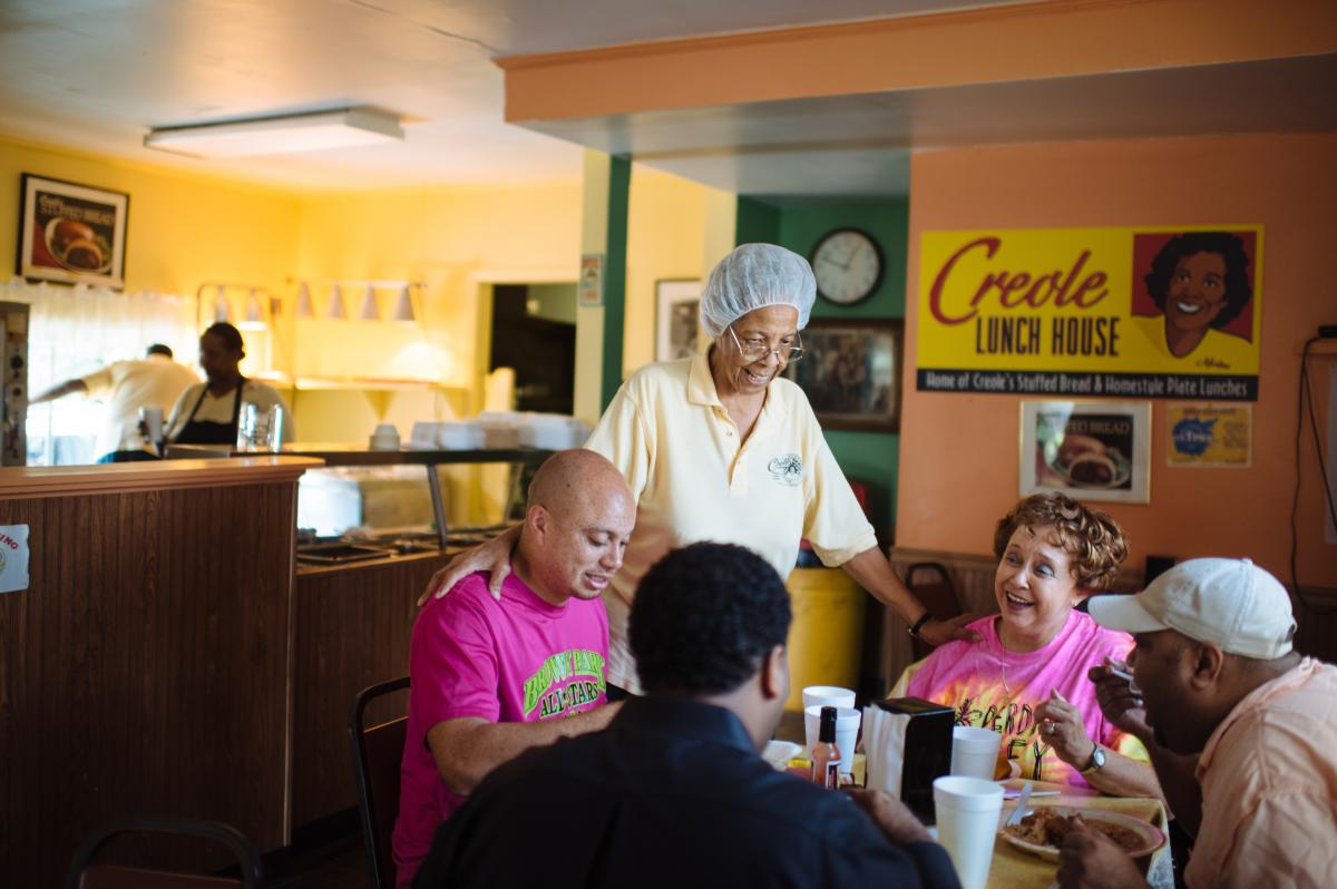 Creole Lunch House Crowd