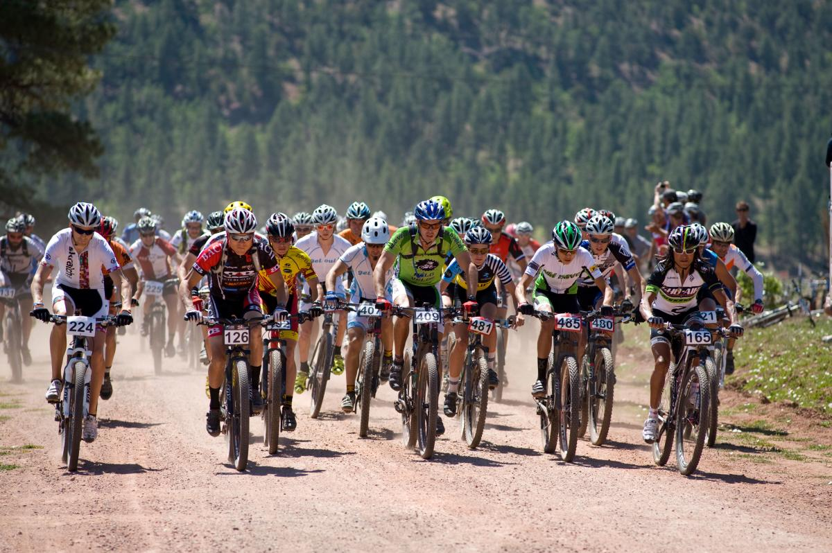 The 24 Hours in the Enchanted Forest bike race