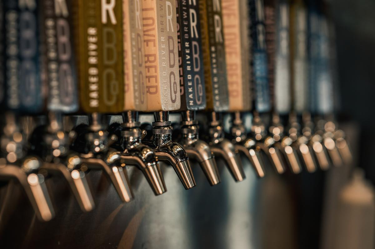 Naked River Brewing_Taps