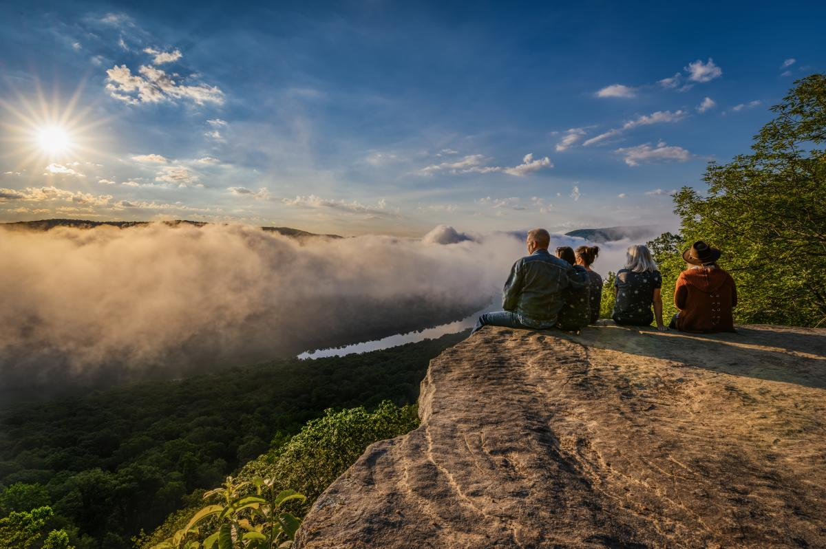 Snoopers Rock Sunrise_Group