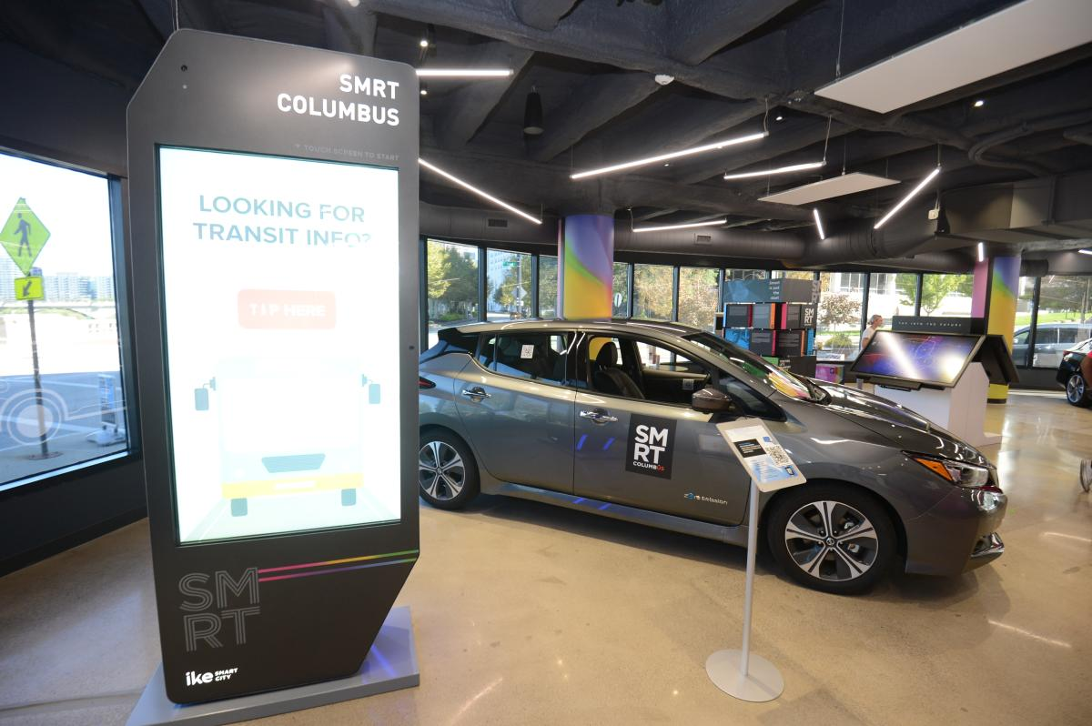 Smart Columbus Interior - Ike + Car