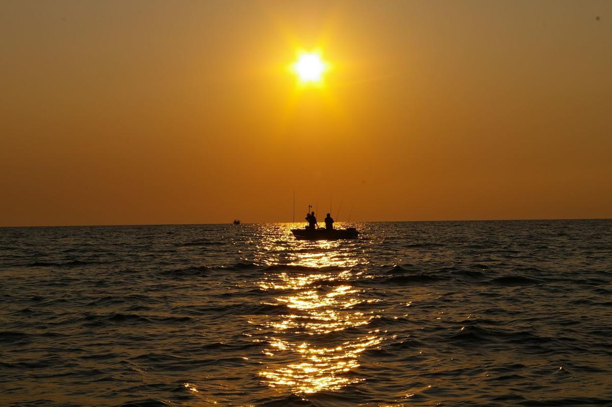 Saginaw Bay Walleye Fishing