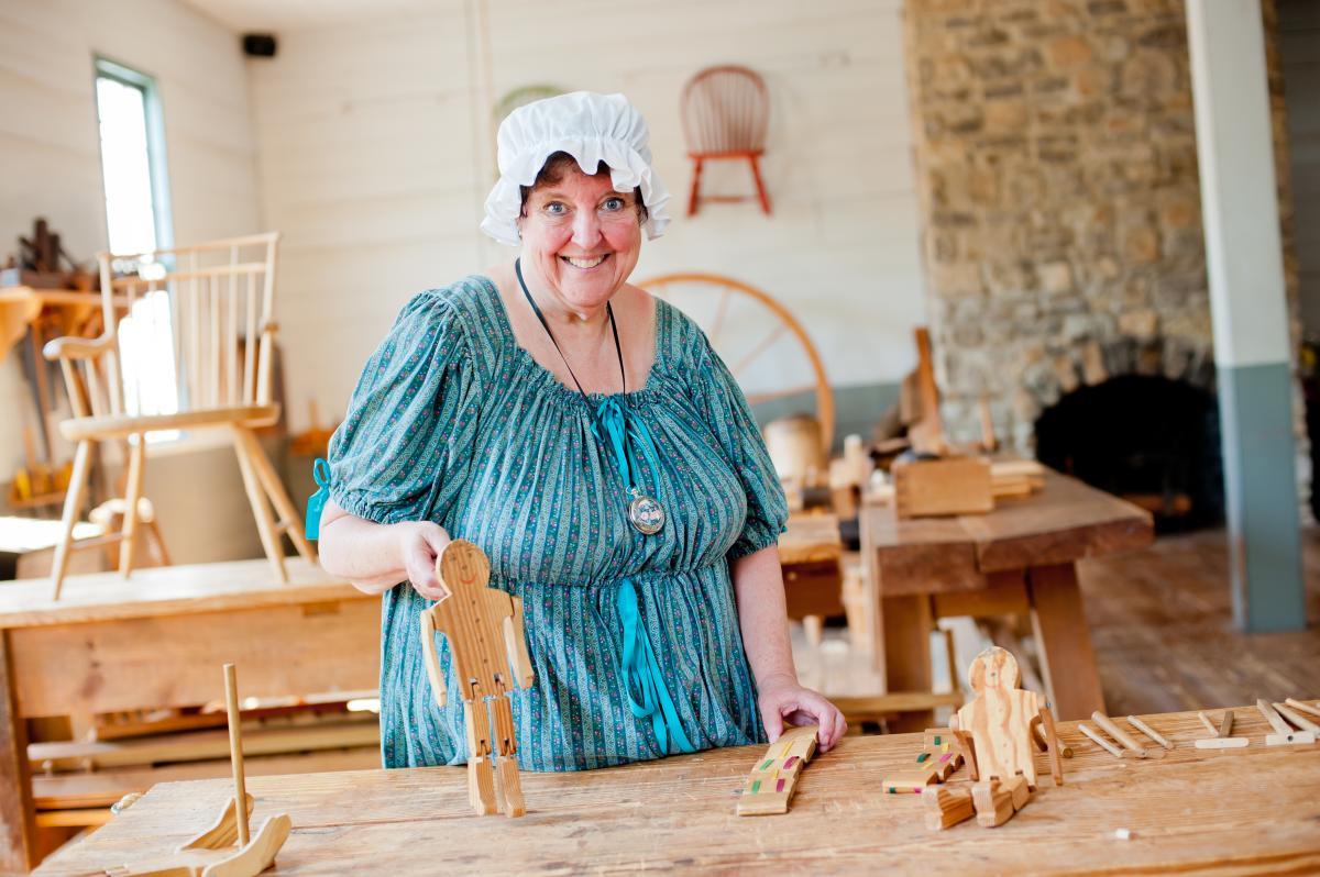 Constitution Village crafts